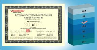 「日本SME格付け」の「a」を取得